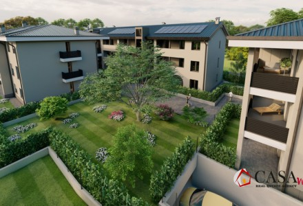 A-CLASS APARTMENTS WITH TERRACES AND PRIVATE GARDENS