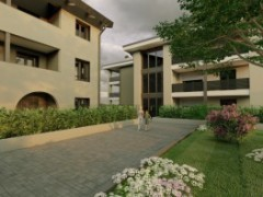 THREE-BEDROOM APARTMENT WITH HABITABLE KITCHEN, DOUBLE AMENITIES AND THREE-SIDED GARDEN - 3